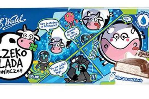 Nowa czekolada dla dzieci z mlecznym nadzieniem od E.Wedel