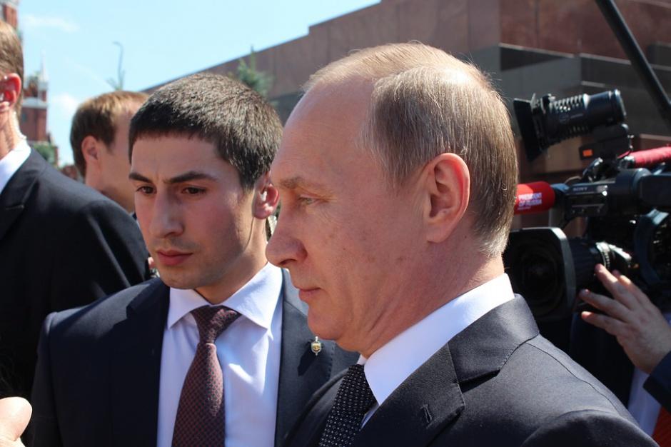 Wypadek limuzyny Putina w Moskwie, zginął kierowca