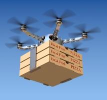 Google chce dostarczać jedzenie studentom za pomocą dronów