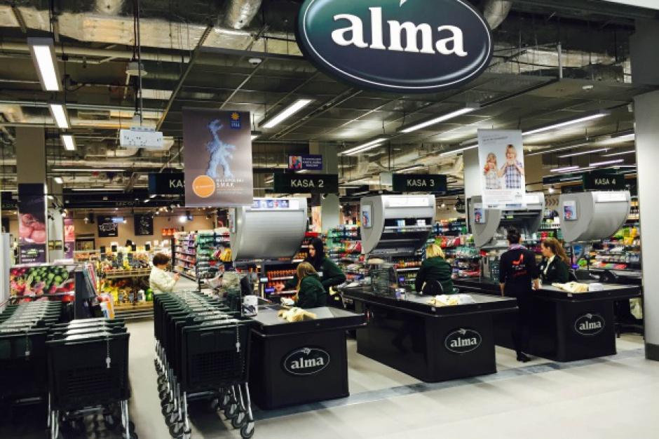 Spadek kursu Alma Market po wniosku o postępowanie sanacyjne