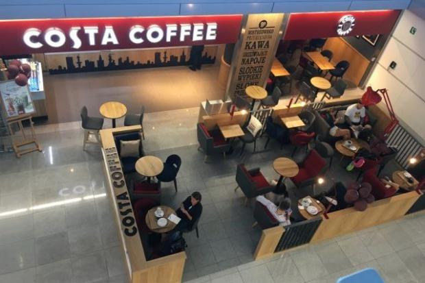Costa Coffee otwiera lokale na warszawskim lotnisku