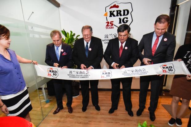 Otwarto oficjalne przedstawicielstwo branży drobiarskiej w Chinach