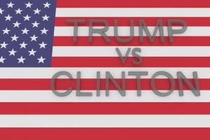 Zażarty spór Clinton z Trumpem o gospodarkę i podatki w czasie ich debaty telewizyjnej