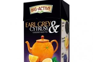 Big-Active promuje linię czarnych aromatyzowanych herbat