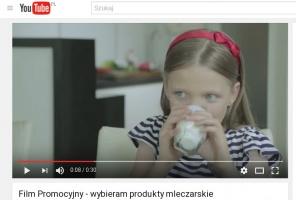 KZSM wyprodukował spot zachęcający do picia mleka