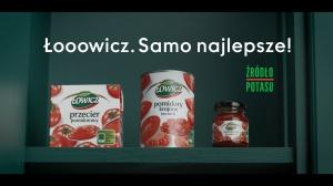 Ruszyła kampania TV produktów pomidorowych Łowicz