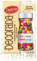 Delecta wprowadza kolorowe mini piegi Decorada