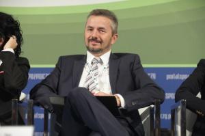 Jan Kolański, prezes Colian w debacie inaugurującej IX FRSiH