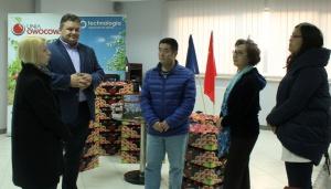 Chińscy inspektorzy odwiedzili Unię Owocową