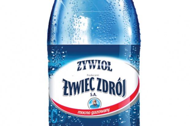 W butelce po wodzie