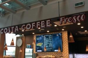 Costa Coffee Fresco – nowy koncept łączący zdrową żywność z kawą
