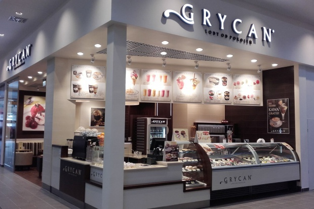 Grycan: dwie nowe lodziarnio-kawiarnie w Galerii Posnania