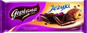 Grześki i Jeżyki w tabliczce czekolady