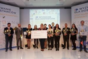 Carrefour nagrodził 3 firmy za ograniczanie marnotrawstwa żywności