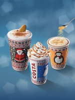 """Costa Coffee: """"Sweterkowe� kubki i nowe zimowe smaki"""