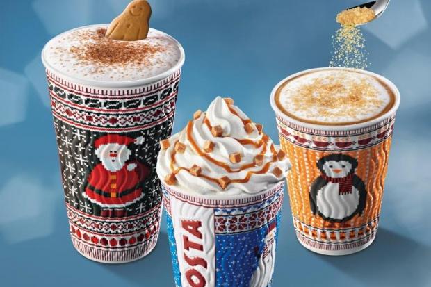 """Costa Coffee: """"Sweterkowe"""" kubki i nowe zimowe smaki"""