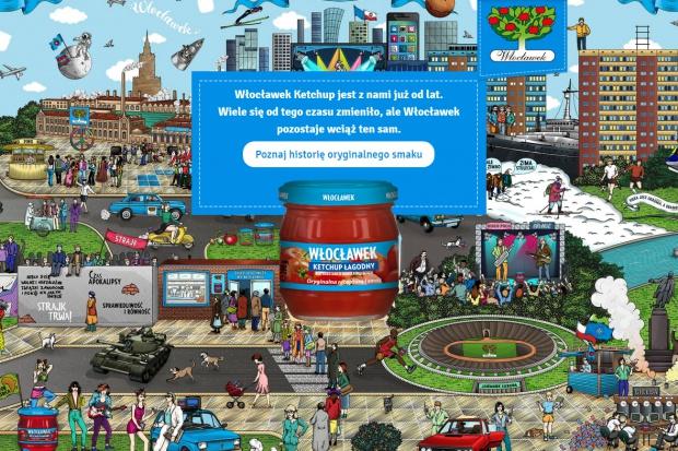 Nowa strona internetowa ketchupu Włocławek