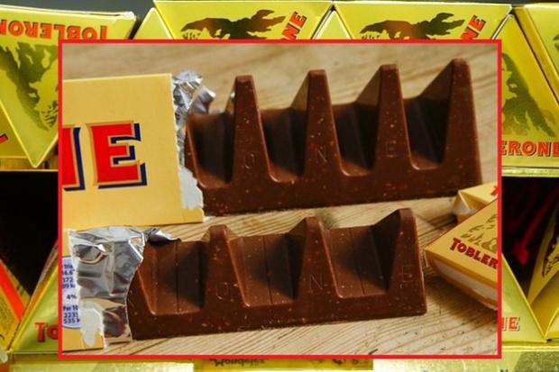 Miłośnicy Toblerone niezadowoleni z nowego kształtu czekoladek