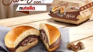 Włoski McDonald's serwuje burgery z Nutellą