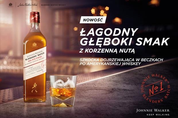 Johnnie Walker Blenders' Batch - szkocka whisky w amerykańskim wydaniu