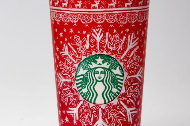 Starbucks: 10 wzorów świątecznych kubków