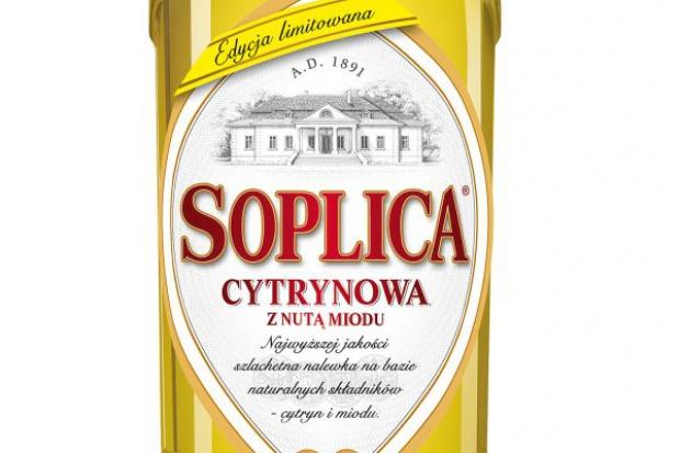 Soplica Cytrynowa z nutą miodu w rodzinie Soplicy