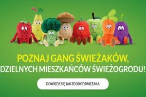 Biedronka: Będzie nowa pula maskotek z Gangu Świeżaków