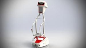 Auchan testuje robota do noszenia zakupów