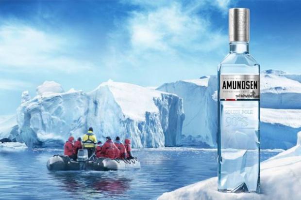 Z wódką Amundsen do krainy wiecznego lodu