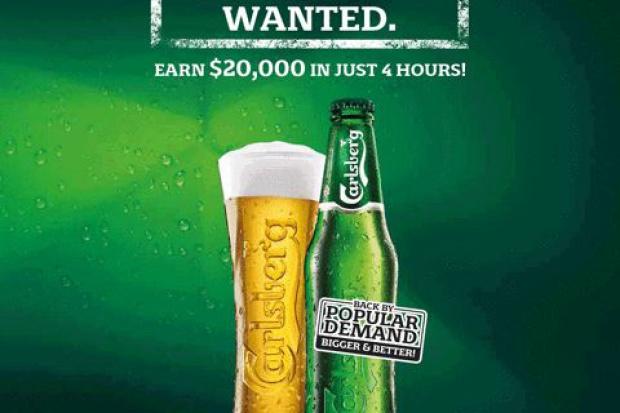 Carlsberg Singapore szuka chętnych do zarobkowego picia piwa