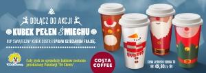 Costa Coffee z akcją charytatywną na Święta