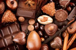 Produkcja wyrobów czekoladowych po 10 miesiącach wyższa niż rok temu