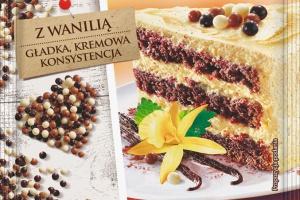 Nowość marki Delecta - Krem tortowy z dodatkiem naturalnej wanilii