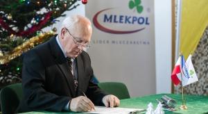 Mlekpol startuje z inwestycją wartą 400 mln złotych