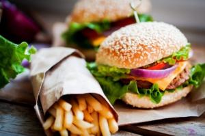 Mniejszy ruch w amerykańskich fast-foodach