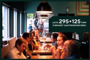 HoReCa w Polsce - lista 295+125 firm restauracyjnych - edycja 2016