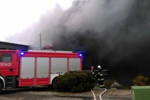 ZM Olewnik: pomimo pożaru wypłata wynagrodzeń niezagrożona