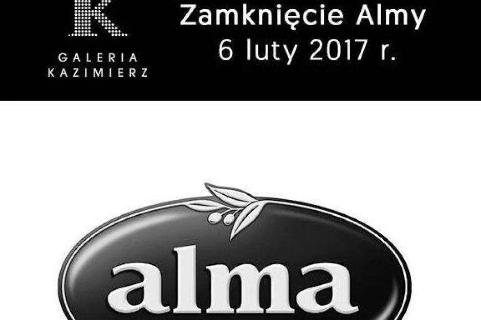Alma zamyka delikatesy w Galerii Kazimierz w Krakowie