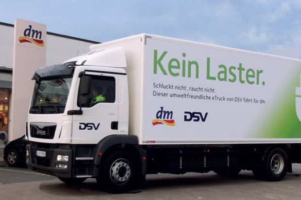 DSV Road wdrożyło elektryczne ciężarówki