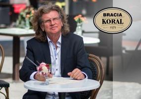 Zbigniew Wodecki został ambasadorem lodów Koral