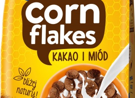 Nowe płatki śniadaniowe od Lubelli - Corn Flakes Kakao i Miód