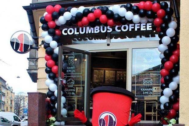 Trzy nowe kawiarnie Columbus Coffe w Szczecinie