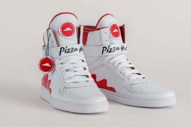 Przycisk na butach sneakers umożliwi zamówienie pizzy z Pizza Hut