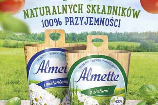 Nowa kampania reklamowa Almette w toku