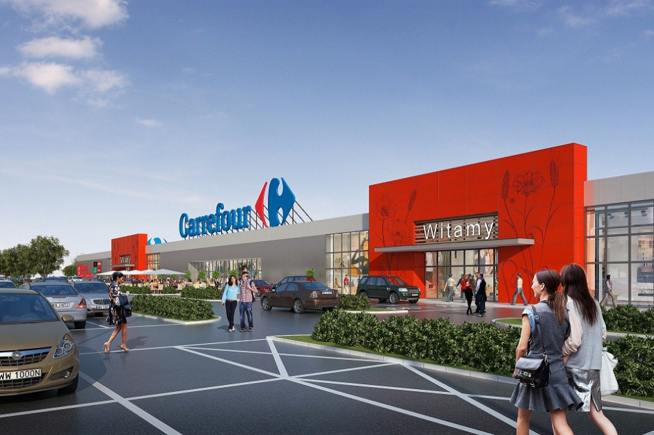 Carrefour powiększy Galerię Słowiańską w Zgorzelcu o ok. 3000 mkw.