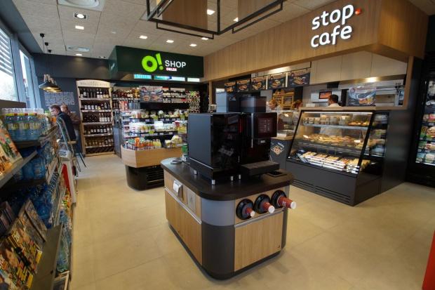 Na 130. stacjach benzynowych PKN Orlen planuje otwarcie konceptów stop.cafe i O!Shop
