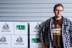 Ziemowit Fałat, współwłaściciel rzemieślniczego Browaru Pinta (pełny wywiad)