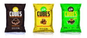 Purella Food wprowadza przekąski Cubes Superfood Snacks