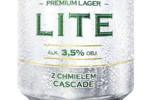 Nowy lager Lech Lite z mniejszą ilością kalorii od Kompanii Piwowarskiej