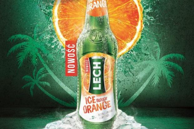 Lech Ice Bloody Orange – nowość od Kompanii Piwowarskiej